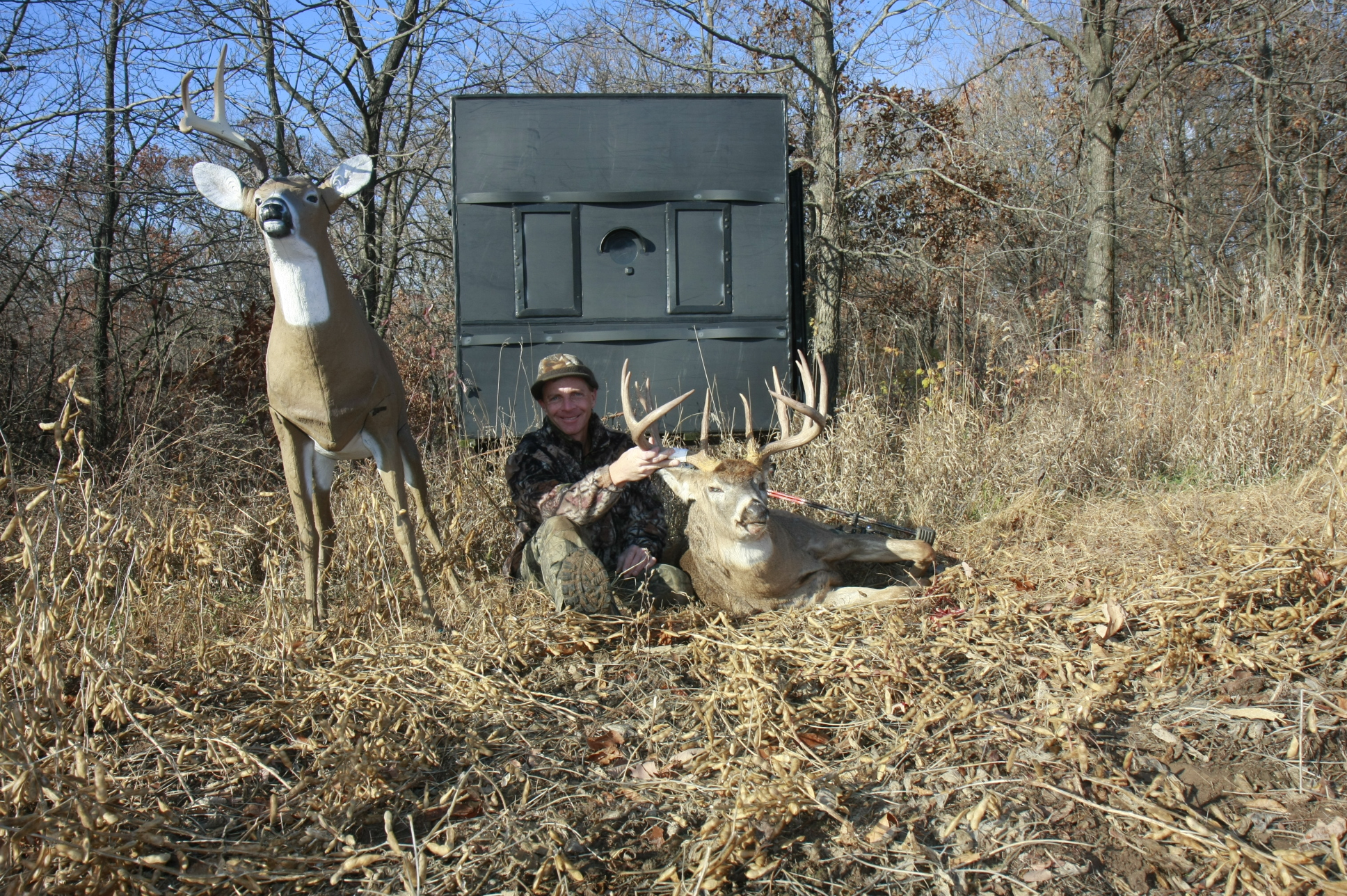 homepage shooter potts sale for the box deer hunting six texas by store feed super blinds
