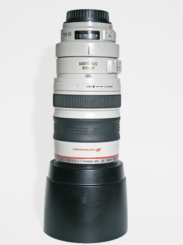 Canon 100-400 f/4-5.6 zoom lens